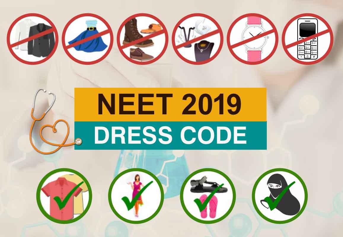 NEET 2019 Dress Code