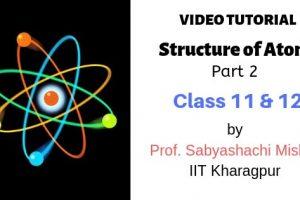 Structure of Atom NCERT Class 11 Video Tutorial