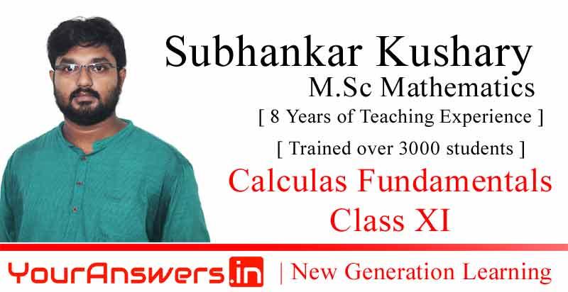 Maths Tutorial by Subhankar Kushary