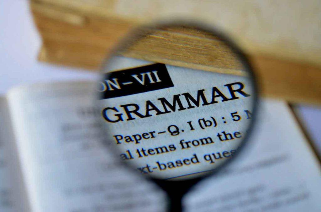 English Grammar Tution